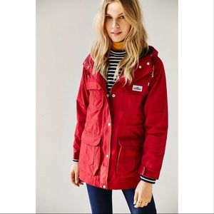 Madewell X Penfield Red Parka | S